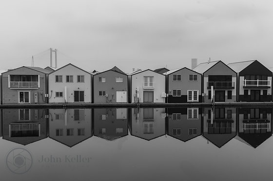 Boathouse Reflections | 8x10