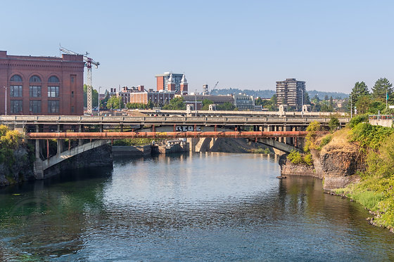 Bridge over Spokane Falls | 8x10