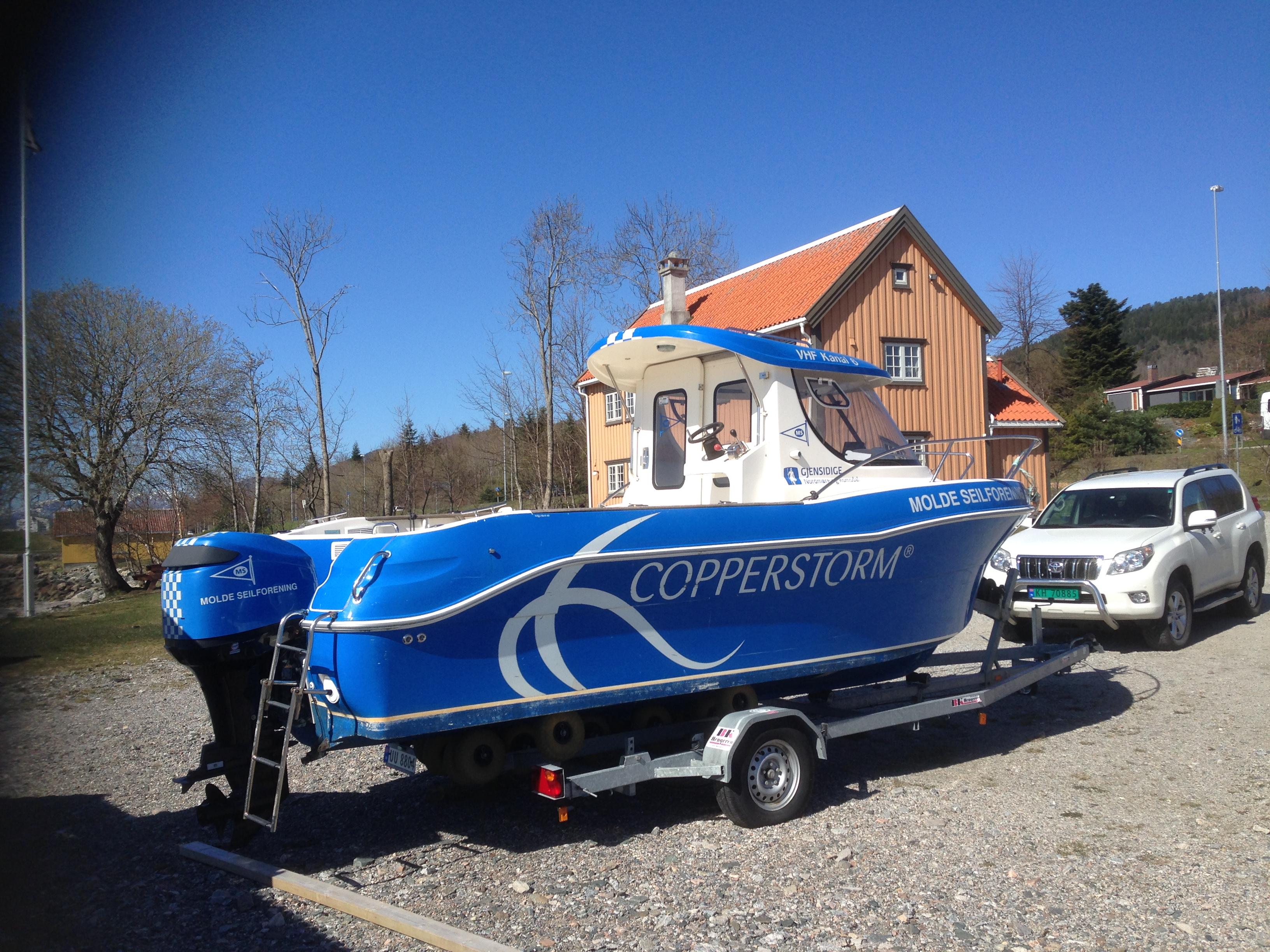 Helfoliering, båtdekor