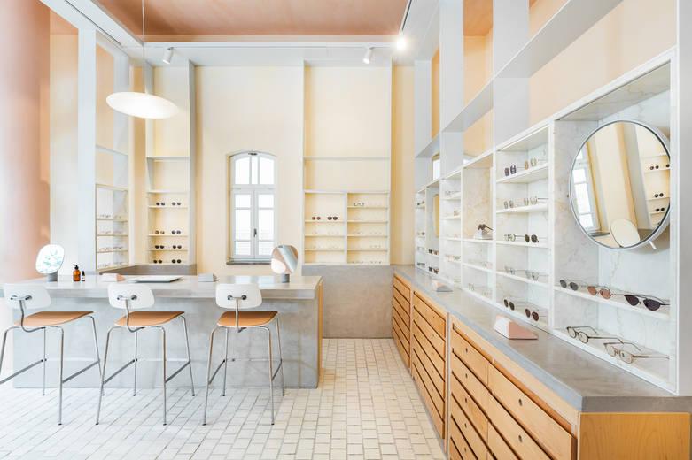 חנות משקפיים בנחלת בנימין