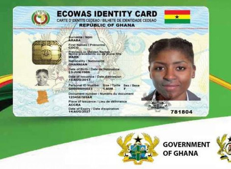 Ghana Card To Be Used As...Read More