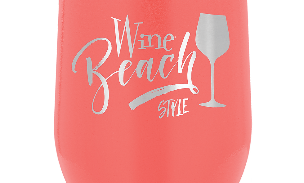10oz Insulated Wine Tumbler