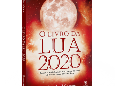 Chegou o Livro da Lua 2020, garanta seu exemplar!