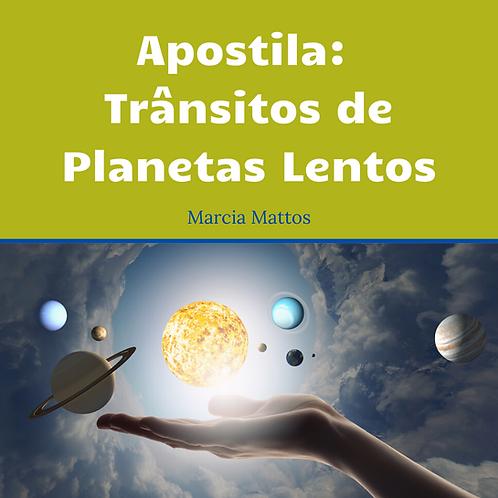 Apostila em PDF - Trânsitos de Planetas Lentos