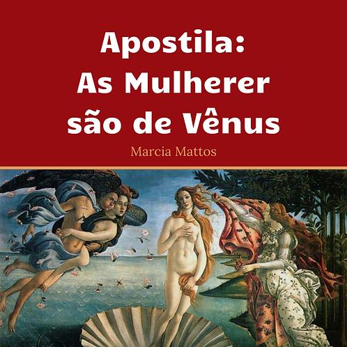 Apostila As Mulheres são de Vênus