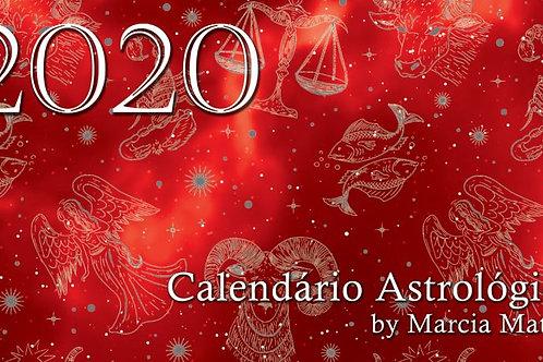 Calendário Astrológico 2020