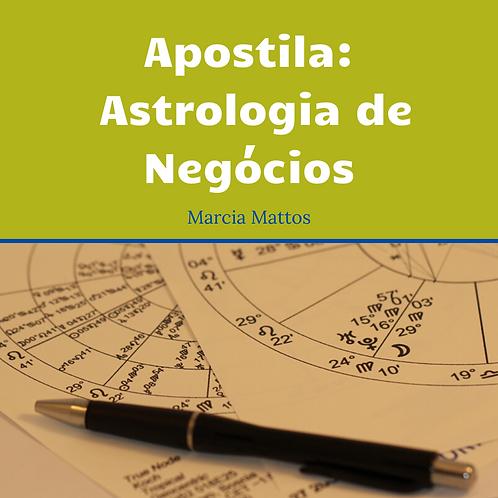 Apostila Astrologia de Negócios