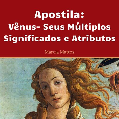 Apostila em PDF - Vênus - Seus múltiplos significados e atributos