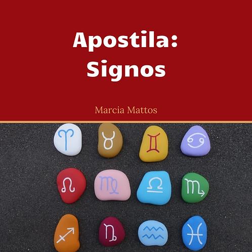 Apostila em PDF - Signos