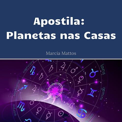 Apostila em PDF - Planetas nas Casas