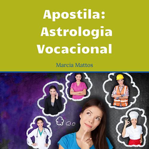 Apostila Astrologia Vocacional