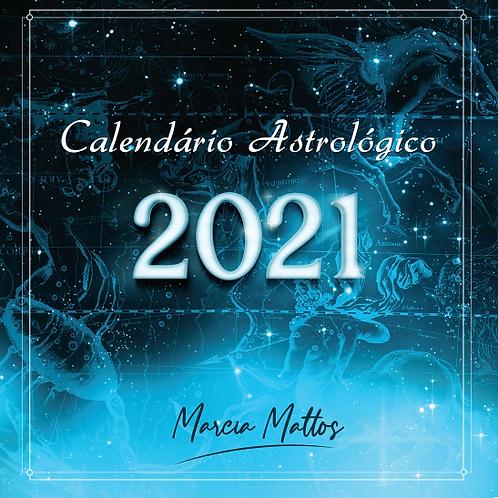 Calendário Astrológico 2021  - Formato Digital