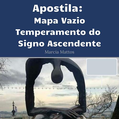 Apostila em PDF - Mapa Vazio - Temperamento do Signo Ascendente