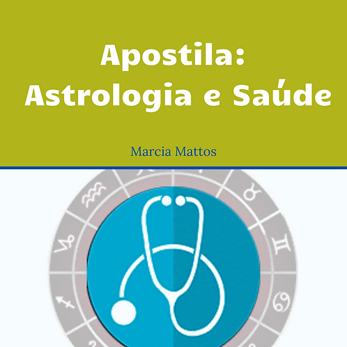 Apostila Astrologia e Saúde