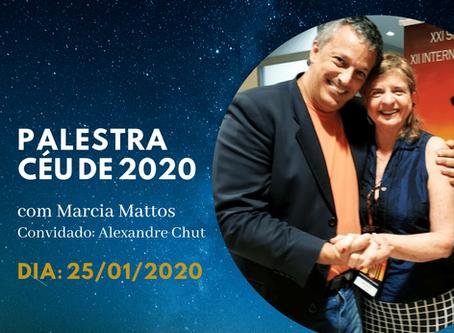 Palestra presencial Céu de 2020