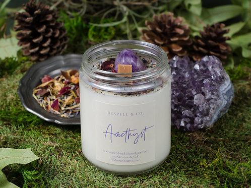 Amethyst Soy Candle