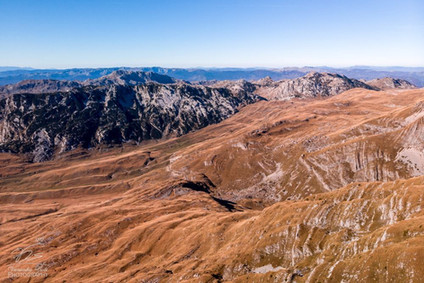 Durmitor from the air