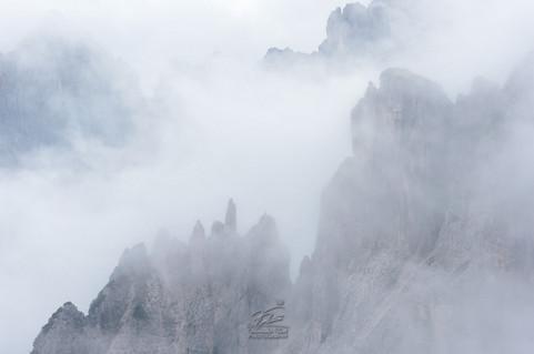 Peaks hidden