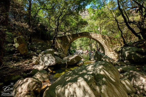 Pont Génois de Zaglia - Gorges de la Spelunca I