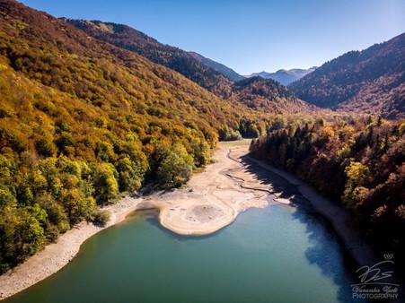 Biogradsko Jezero from the air