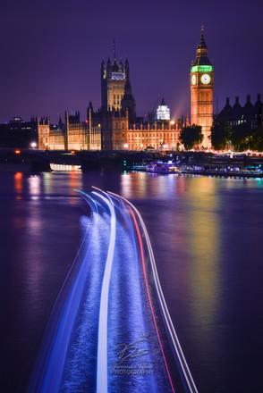 Big Ben, boat-trailed!