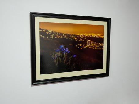 One of my favorite winner photo is on my wall