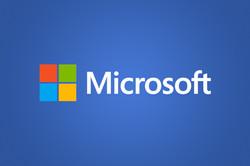 Microsoft-logo-on-blue
