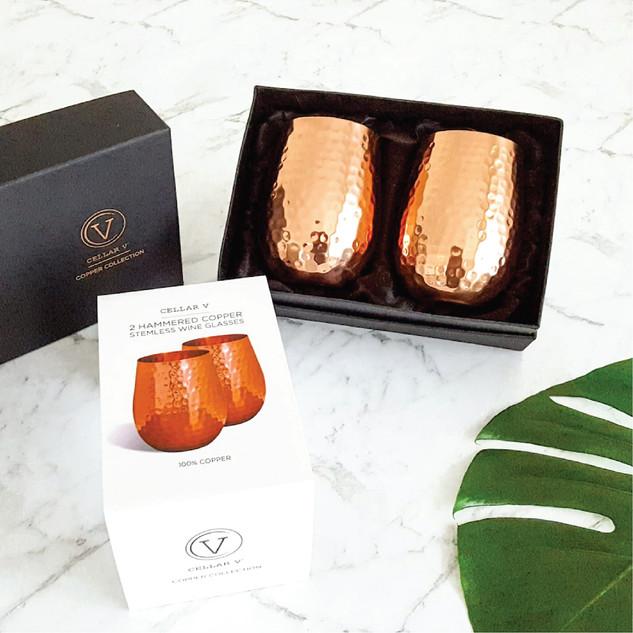 Packaging design for Cellar V