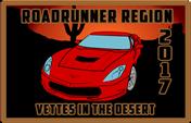 Roadrunner Region Vettes in the Desert 2017