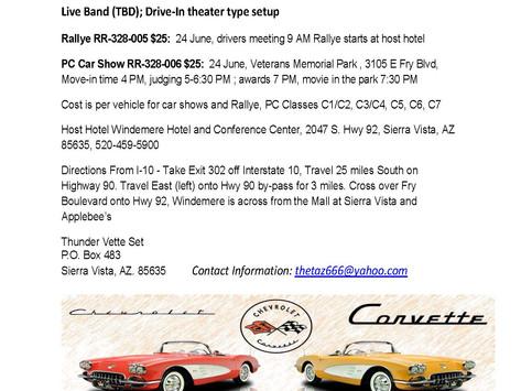 TVS Presents Corvette Summer - Saturday, June 24, 2017