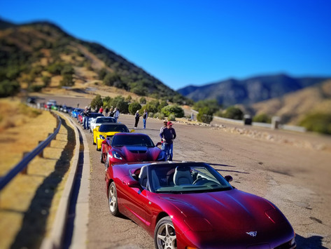 Roadrunner Region Vettes in the Desert 2018