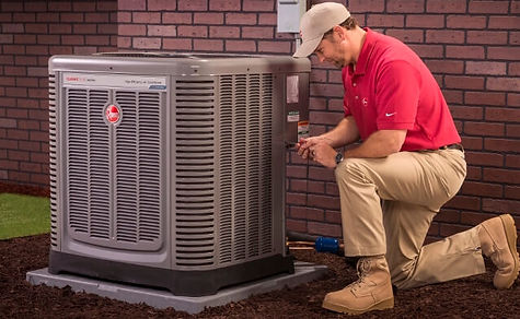 rheem hvac air conditioner maintenance l
