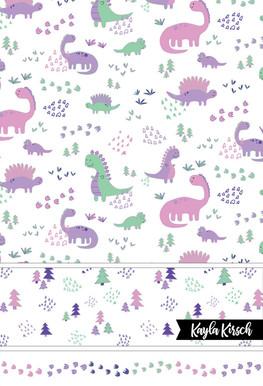 Dinosaur Fun Recolor