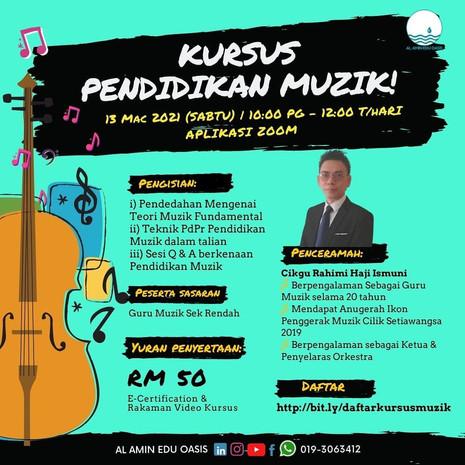 Kursus Pendidikan Muzik