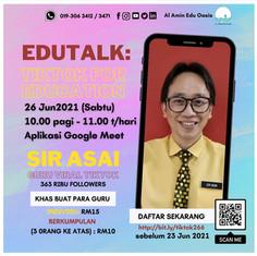 EDUTALK: TIKTOK FOR EDUCATION