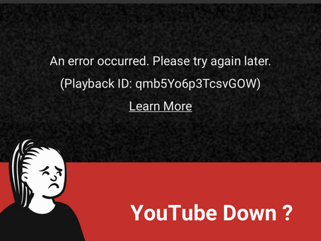 YouTube Down :(