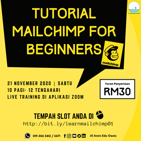 Tutorial Mailchimp for Beginners