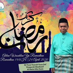 Ucapan Ramadhan 1441H