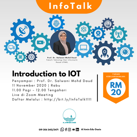InfoTalk : Introduction to IOT