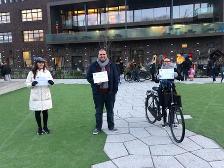 TSO-ouders Spaarndammerhoutschool Vreedzaam getraind
