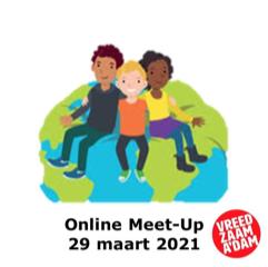 Eerste meet-up Vreedzaam Amsterdam 2021
