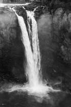 Snoqualmie Falls, B&W