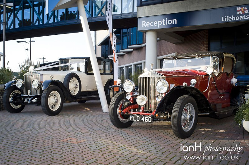 Stunning Vintage Rolls-Royce wedding cars from RR Elite