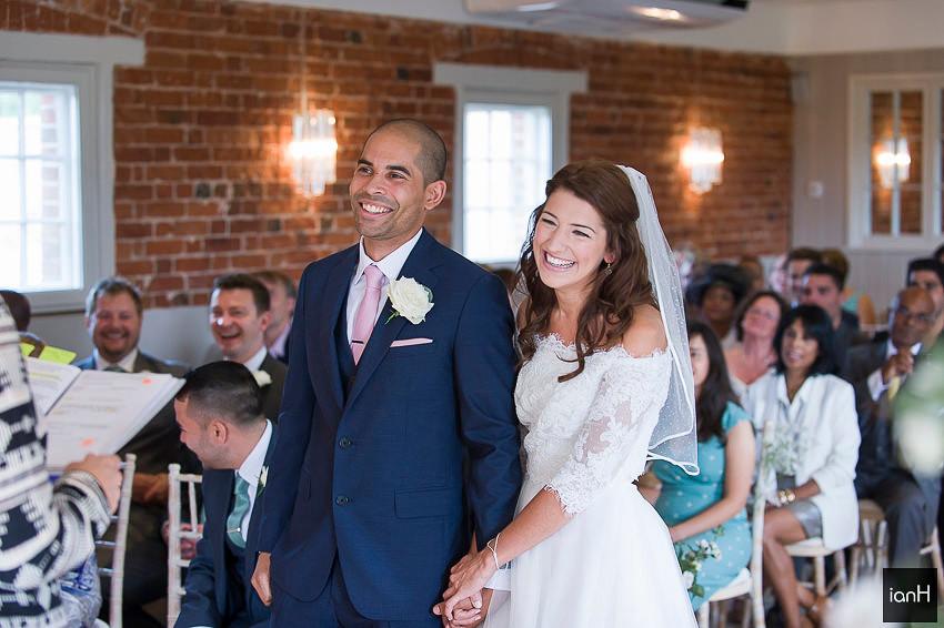 The Granary at Sopley Mill wedding