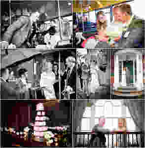 London Routemaster bus wedding in Dorset