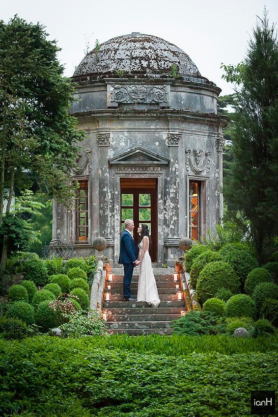 Thank you - Larmer Tree Gardens wedding