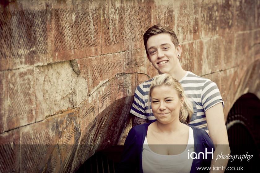Young engaged couple eShoot at Highcliffe Castle Dorset - Dorset wedding photography