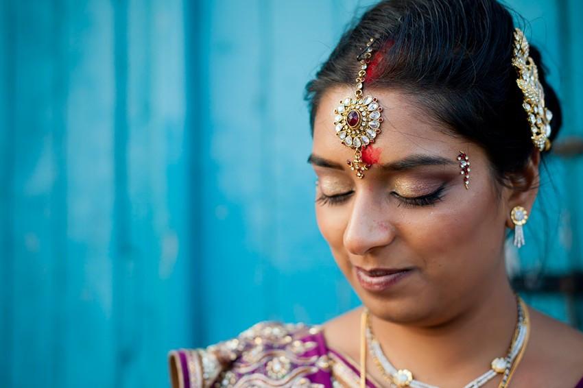 Portrait of a Hindu Bride