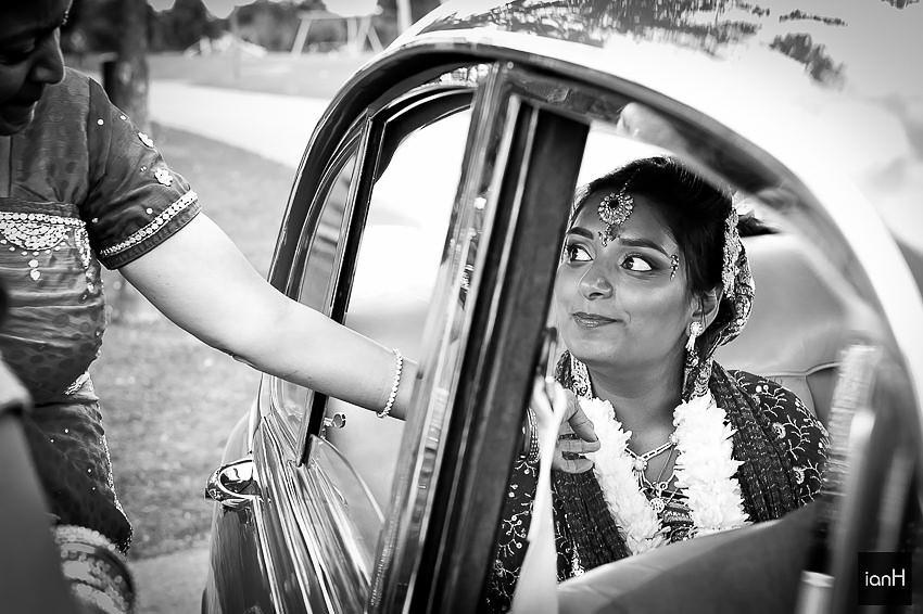 Emotion and sadness at a Hindu wedding