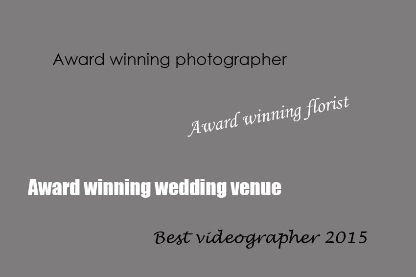 Should Brides put trust in wedding industry awards